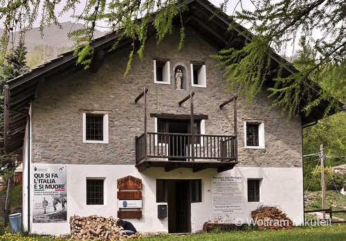 Cà del Meist - mit Bibliothek und Ausstellung zum Colle Galisia - Foto: © Wolfram Mikuteit