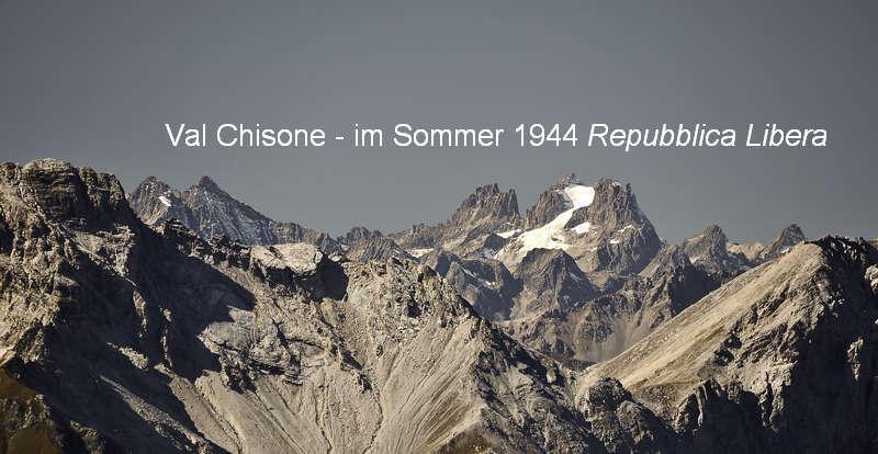 vom Assiettakamm Aussicht nach Westen auf die Grande Ruine (3.765 m) - Foto: © Wolfram Mikuteit
