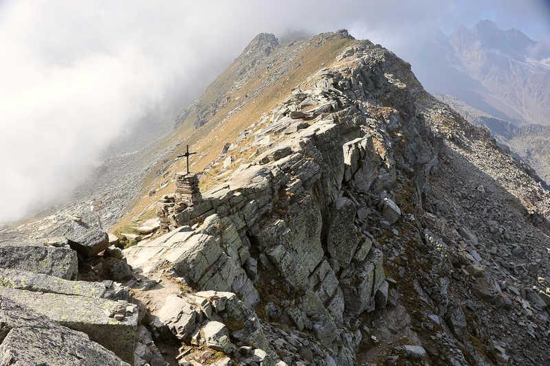 Colle della Crocetta - zw. Orco und Grandetal - Foto: © Wolfram Mikuteit