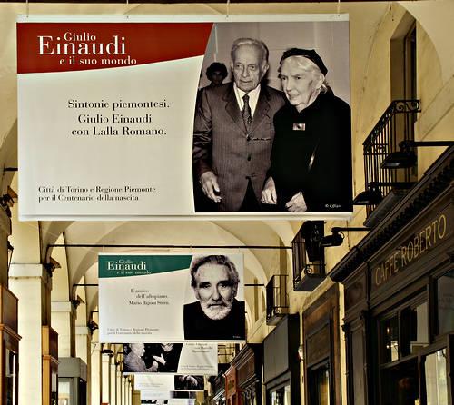Lalla Romano und Giulio Einaudi - Foto: © Wolfram Mikuteit