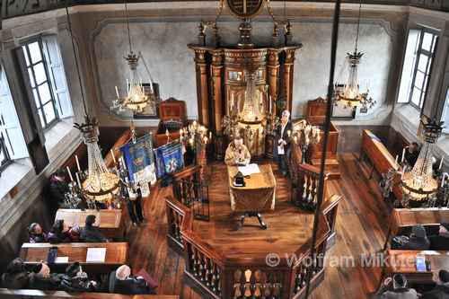 Synagoge in Saluzzo - Foto: © Wolfram Mikuteit